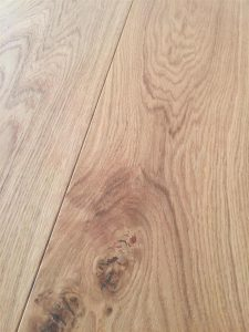 Classic French Oak engineered flooring with hard wax oil finish.