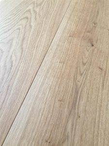 Light Oak engineered flooring, clear oil finish