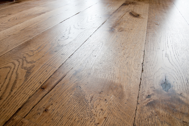 Reclaimed timber effect. Tumbled, coloured and oiled for antique wood look