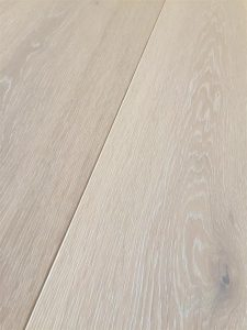 Limed Oak, oil finish light engineered flooring