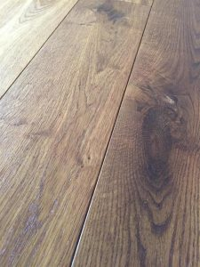 Fumed oak engineered dark wood flooring, hard wax oil finish
