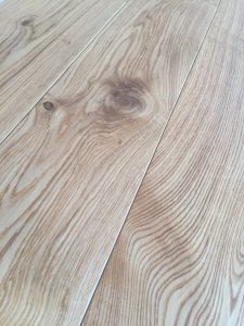 Character engineered oak flooring, warm tones, hard wax oil finish