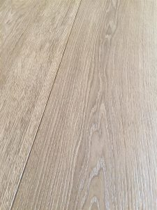Grey Oak flooring, fumed, coloured, brushed and oiled