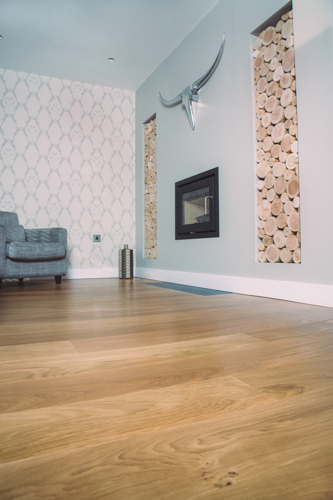 Classic French Engineered Prime Oak Flooring With Hardwax Oil In Snug