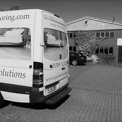 Outside Wood Flooring Showroom Leicestershire